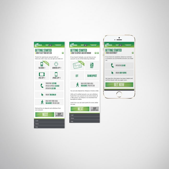 Corporate business app and mobile responsive web design. User experience design and content creation.