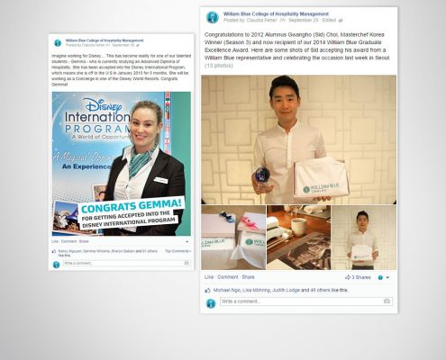 Corporate business Facebook organic content posts. Facebook post design artwork.