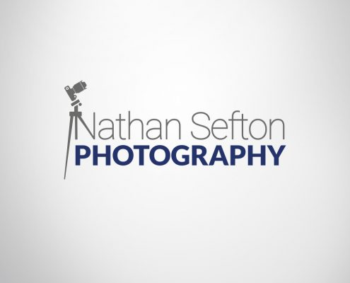Photography business branding logo design example