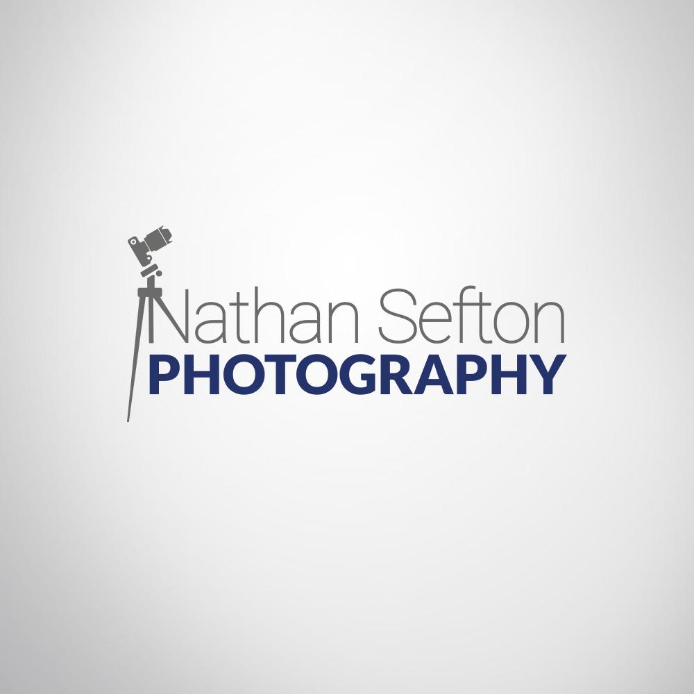 Photography business branding logo design example