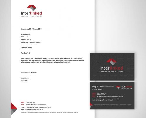 property services business branding & logo design