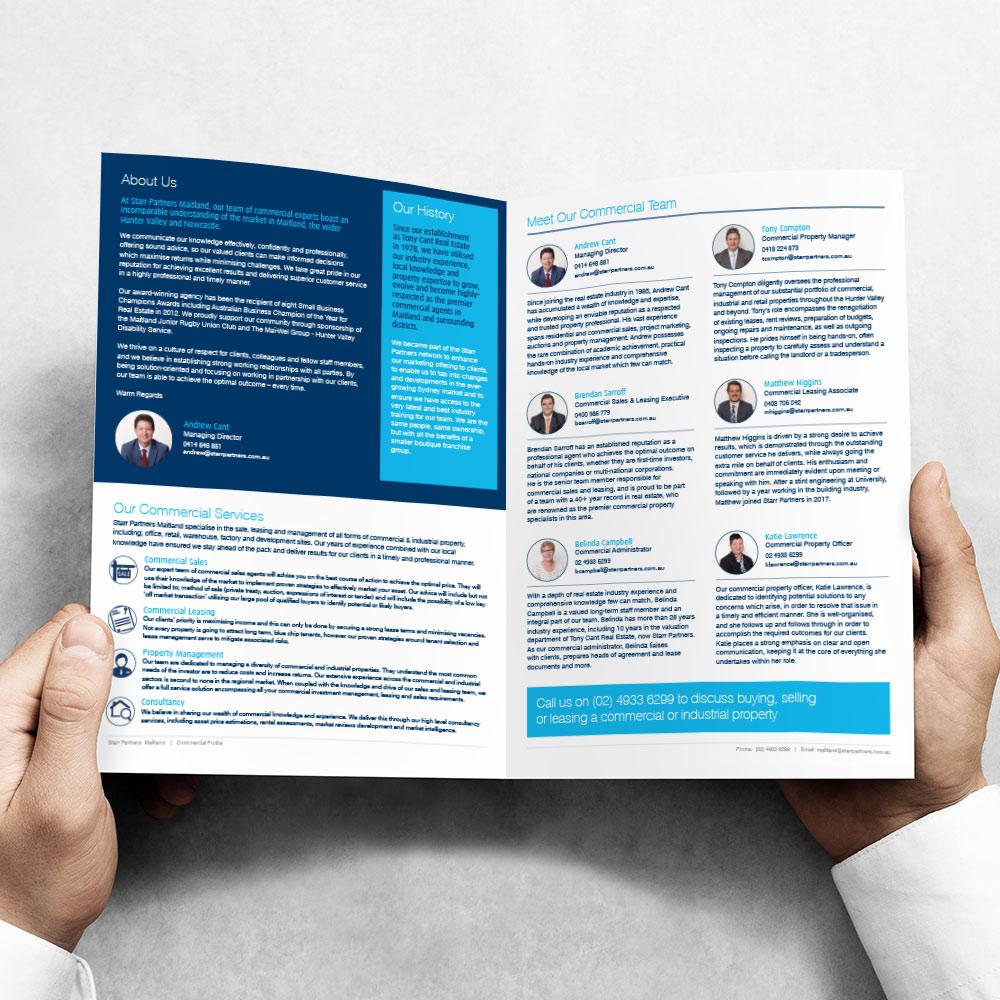 Custom Branded Company Profile Flyer or Brochure