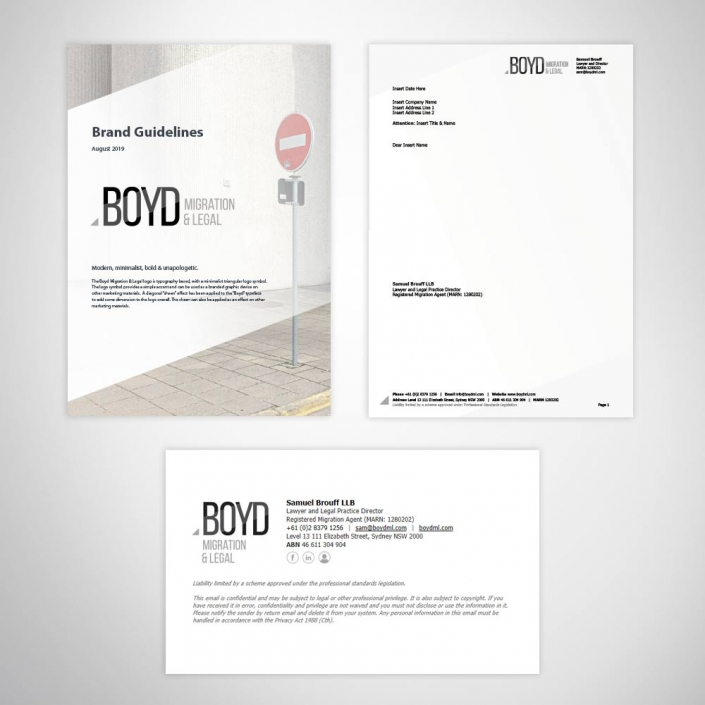 Legal Firm Marketing Collateral Design