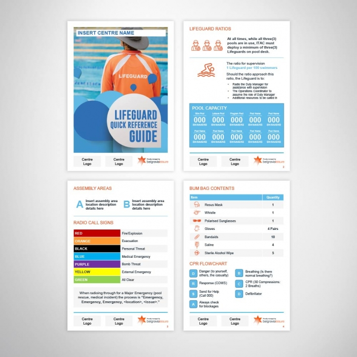 Customisable Design PowerPoint A6 Brochure