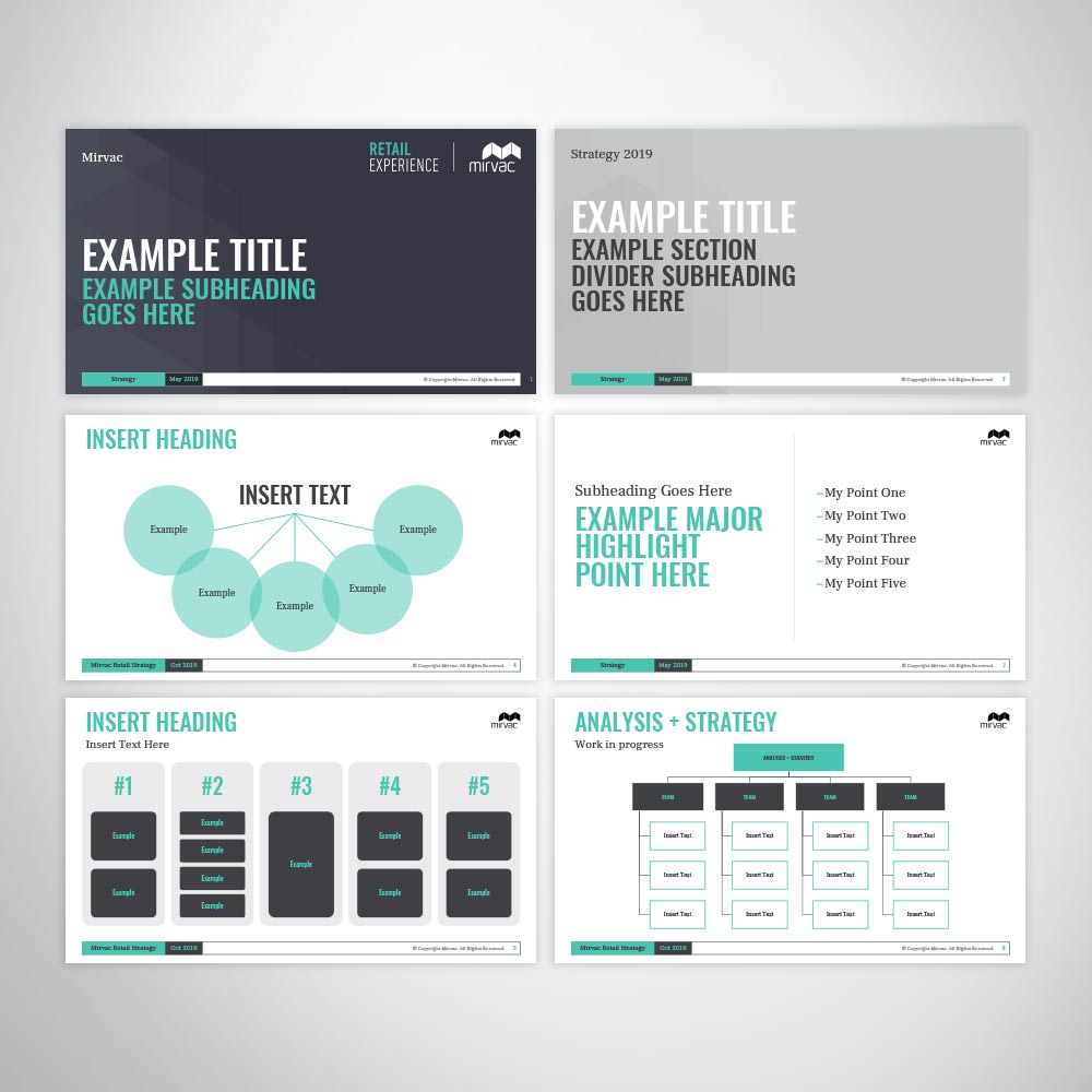 Corpoarte Custom Branded PowerPoint Presentation Design